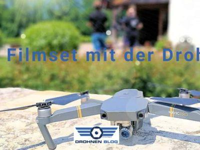 Ein Tag am Filmset mit der Drohne