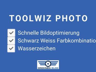 Bildnachbearbeitung mit der App Toolwiz Photo für Android