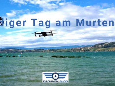 Windiger Tag am Murtensee