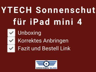 PYTECH Sonnenschutz für iPad mini 4