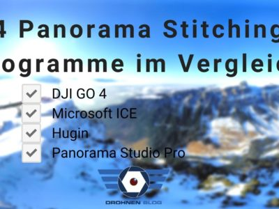 4 Panorama Stitching Programme im Vergleich